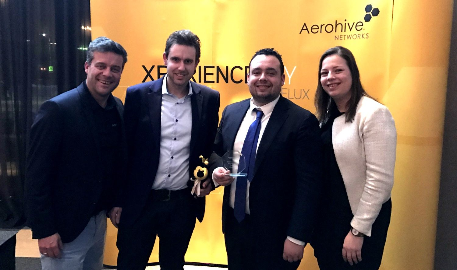 Extreme Networks (voorh. Aerohive) Award Uitreiking