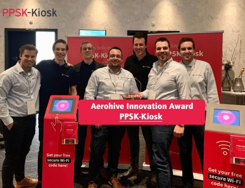 Aerohive Innovation Award voor PPSK-Kiosk